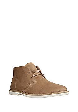 F&F Faux Suede Desert Boots - Beige
