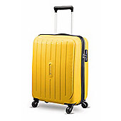 Carlton Phoenix 4-Wheel Hard Shell Yellow Large Suitcase