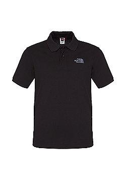 The North Face Mens Polo Piquet T-Shirt - Black