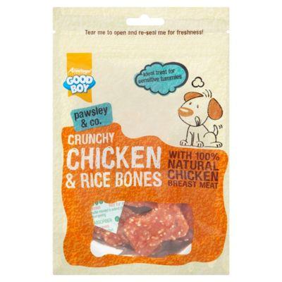Crunchy Chicken & Rice Bones 100g