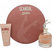 Jean Paul Gaultier Scandal Gift Set EDP 80ml + Body Lotion 75ml For Women