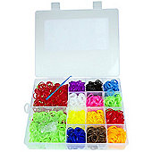 Jacks Loopies - 2000 Assorted Loom Bands