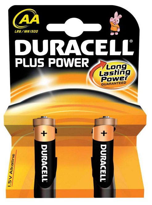 Duracell 81275181 Plus 1.5V AA Alkaline Power Battery