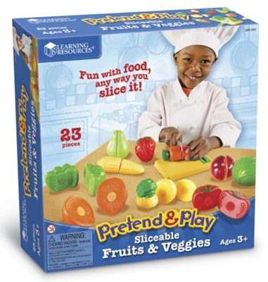 Learning Resources Sliceable Fruits & Veggies