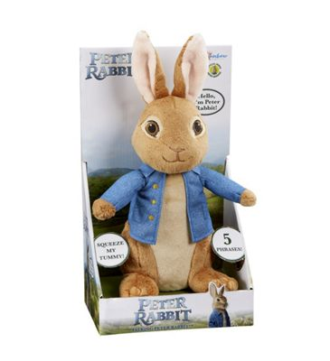 Peter Rabbit Movie Talking Peter
