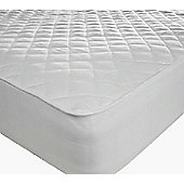 "Double Bed 12"" Deep Quilted Mattress Protector Microfibre Soft Touch Fitted Sheet"
