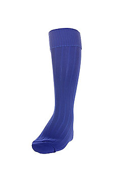 Precision Training Plain Football Socks - Blue