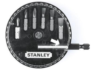 Stanley Insert Bit Set Phillips/Slotted 7 Piece