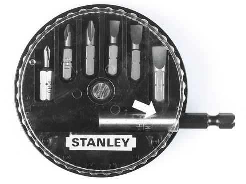 Stanley Insert Bit Set Phillips/Slotted 7 Piece