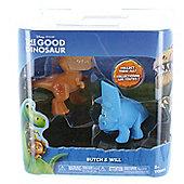 Disney Pixar The Good Dinosaur 2 Figure Pack - Butch & Will