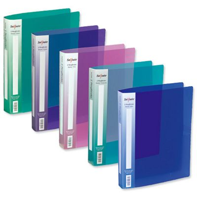 Snopake Electra Ring Binder Polypropylene 2 O-Ring 25mm Size [Pack 10]