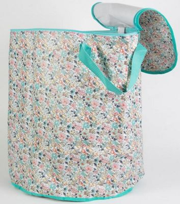 Ditsy Floral Laundry Bag Foldable Clothes Washing Basket