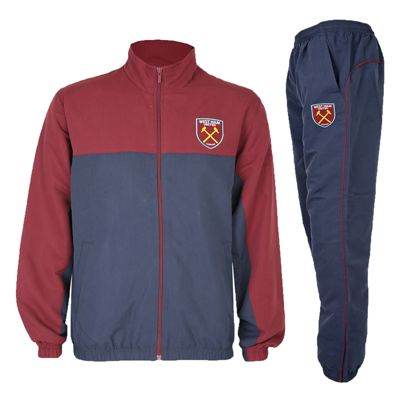 West Ham United FC Boys Tracksuit 12-13 Years XLB