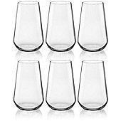 Bormioli Rocco Inalto Uno Water / Juice Tumblers - x6 Glasses - 410ml
