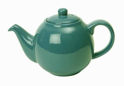London Pottery Globe Teapot, 6 Cup, Turquoise Blue