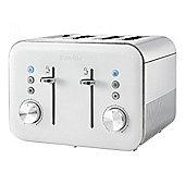 Breville VTT687 High Gloss Collection 4 Slice Toaster in White