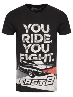 Fast & Furious You Ride You Fight Men's T-shirt, Black
