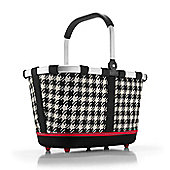 Reisenthel Shopping Bag Second Generation with Base Feet in Fifties Black BL7028