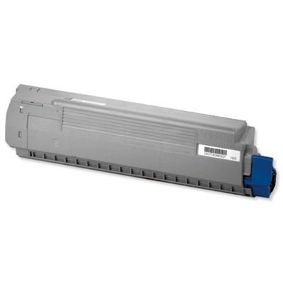OKI Cyan Toner Cartridge for C810/C830 A3 Colour Printers (Yield 8000 Pages)