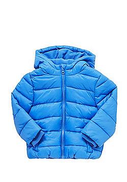 F&F Shower Resistant Padded Coat - Blue