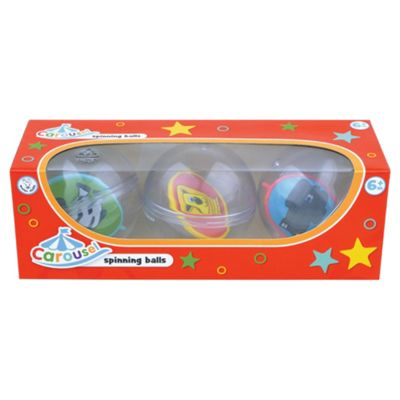 Carousel Spinning Balls