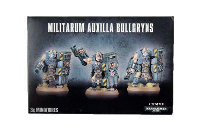Warhammer Militarum Auxilla Bullgryns Model Kit