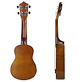 Rocket Soprano Ukulele With Bag - Natural