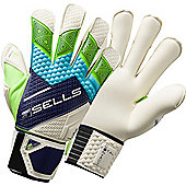 Sells Total Contact Pro Terrain Goalkeeper Gloves Size - Blue