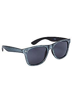 F&F Wood Effect Frame Sunglasses One size Grey