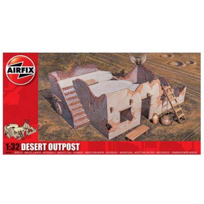 Airfix A06381 Desert Outpost 1:32 Model Kit Buildings