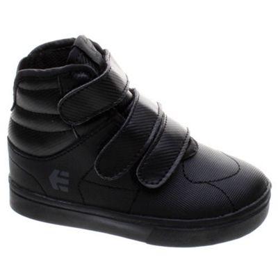 Etnies Senix Mid Black Toddler Shoe