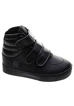 Etnies Senix Mid Black Toddler Shoe - Black