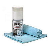 Monster TVCLNKITEU2 ScreenClean Kit with 200ml Spray and Cloth