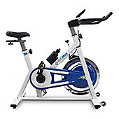 Bodymax B2 Indoor Cycle Exercise Bike (White) + LIMITED OFFER Free LCD Monitor