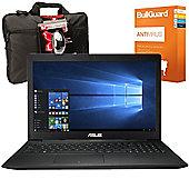"Asus 15.6"" Laptop Intel Celeron N2840 2.16 GHz 8GB RAM 1TB HDD Windows 10"
