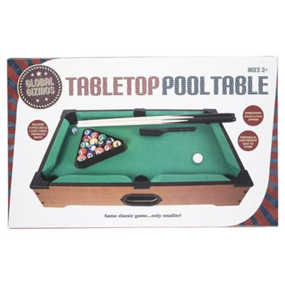 Buy Tabletop Pool Game Set from our Other Occasions range - Tesco