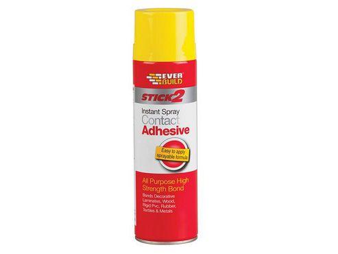 Everbuild CONSPRAY5 Stick 2 Spray Contact Adhesive 500 ml
