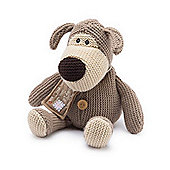Intelex Heatable Boofle Microwavable Soft Toy Knitted Dog