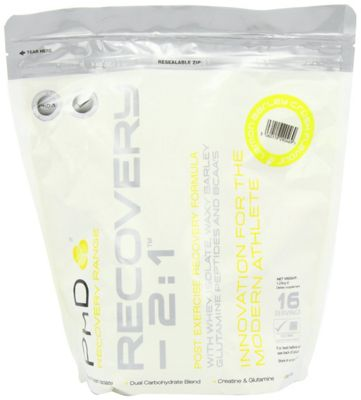 PhD Recovery 2:1 1.28kg - Lemon