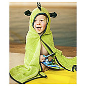 Cuddle Roar Hooded Baby Towel, Green