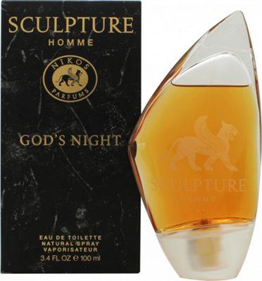 Nikos Sculpture Homme God's Night Eau de Toilette (EDT) 100ml Spray For Men
