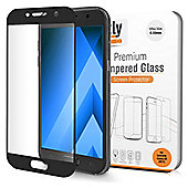 Orzly® - 2.5D Pro-Fit Tempered Glass Screen Protector for Samsung Galaxy A3 (2017)