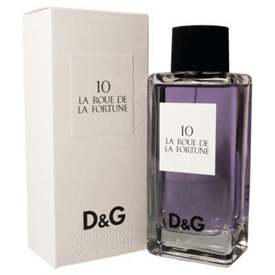 D&G 10 La Roue De La Fortune Eau de Toilette 100ml Spray