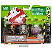 Ghostbusters Jillian, Rowan in Trap, and Gertrude Ghost Mini Figure (3 Pack)