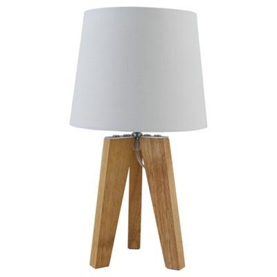 Tesco Tripod Table Lamp Natural