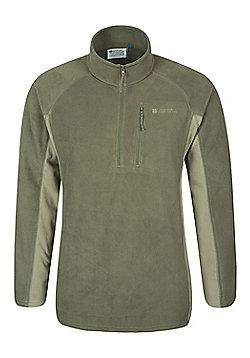 Mountain Warehouse Ashbourne Mens Fleece - Green