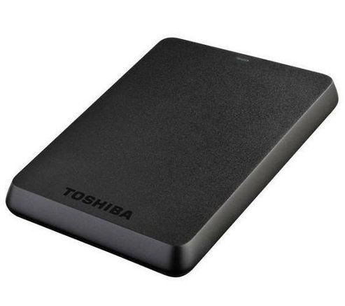 Toshiba Store.E Basics External Hard Drive - 750 Gb, Black