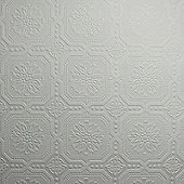 Superfresco Paintable Small Squares Textured White Wallpaper