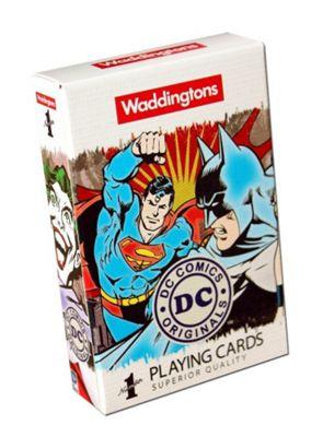 Waddingtons DC Comics Playing Cards