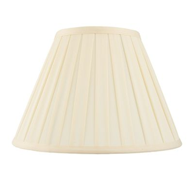Carla 10 Inch Light Shade Cream Cotton Mix